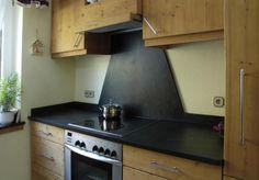 Küchengestaltung mit Schiefer und Naturstein