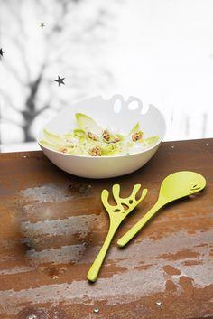 Koziol SHADOW Salad bowl w/ servers