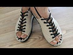 Crochet Slipper Boots, Crochet Sandals, Crochet Slippers, Fashion Bags, Fashion Shoes, Pencil Dress Outfit, Crochet Slipper Pattern, Bohemian Sandals, Denim Shoes