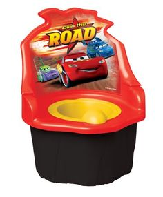 $19.87-$29.99 Baby Disney  Pixar Car 3 in 1 Potty Trainer, Red - Ginsey Disney Cars 3 in 1 Potty Trainer Finally, a clever all-in-one device designed for every stage of potty training! Available in a host of licensed characters, this on-the-floor model can be disassembled into a detachable potty seat and a makeshift step stool to support your child's progression. Designed with a non-spill bowl f ...