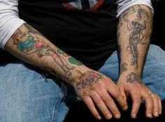 Men Hand Tattoos