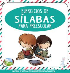 cuadernillo de silabas Preschool Spanish, Teaching Spanish, Classroom Labels, Leo, Spanish Words, Primary School, Kids And Parenting, Activities For Kids, Literacy