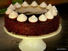 Prajitura Ana - Lucky Cake Foods To Eat, I Foods, Pinterest Recipes, Nutritious Meals, Mousse, Breakfast Recipes, Deserts, Easy Meals, Favorite Recipes