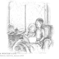 A Winter's Eve by Breezy Brookshire #breezytulipstudio