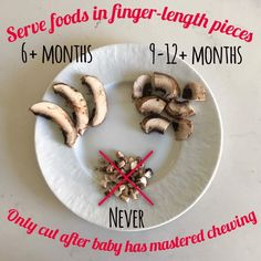 Serve foods in finger length pieces. Baby Led Weaning Serve foods in finger length pieces. Baby Led Weaning Serve foods in finger length pieces. Baby Led Weaning Serve foods in finger length pieces. Baby Led Weaning First Foods, Weaning Foods, Baby First Foods, Baby Weaning, Baby Finger Foods, Baby Food Guide, Baby Food Recipes, 9 Month Old Baby Food, Fingerfood Baby