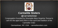 Twitter -- Carmelite Sisters (CarmeliteSister) on Twitter
