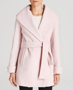 18 Trendy Wrap Coats for Fall via Brit + Co