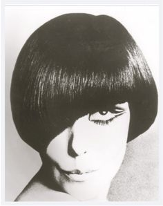 Vidal Sassoon created this hairstyle in the 1960s and was part of the mod movement