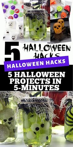 These 5 Halloween hacks made in under 5-minutes are the perfect last-minute activity for the kids this Halloween. #JoySquad #PartyCity #MorePartyForLess Halloween Cookies, Halloween Treats, Halloween Party, Diy For Kids, Crafts For Kids, Personalized Valentine's Day Gifts, Work Planner, 16th Birthday Gifts, Custom Wood Signs