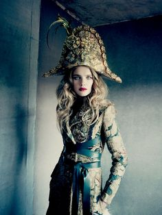Natalia Vodianova by Paolo Roversi for Vogue Russia December 2014 1