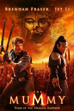 The Mummy: Tomb of the Dragon Emperor (Brendan Fraser, Jet Li and Maria Bello ) Films Hd, Hd Movies, Movies To Watch, Movies Online, Movies Free, Cinema Movies, Indie Movies, Comedy Movies, Movie Theater