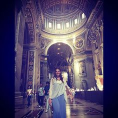 #stpetersbasilica #rome #vatican #roma #rome by kirsty180808