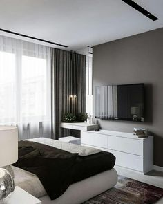 Seating area In Master Bedroom - Seating area In Master Bedroom , Drees Homes Rowan Master Bedroom with Sitting area Ikea Bedroom Design, Home Room Design, Bedroom Colors, Bedroom Designs, House Design, Minimalist Bedroom, Modern Bedroom, Master Bedroom, Contemporary Bedroom