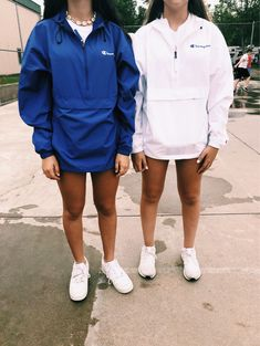 vintage windbreakers - We never go out of style ✿ - School Outfits Cute Lazy Outfits, Sporty Outfits, Trendy Outfits, Winter Outfits, Comfy School Outfits, Lazy School Outfit, Teenager Mode, Teenager Outfits, Champion Clothing