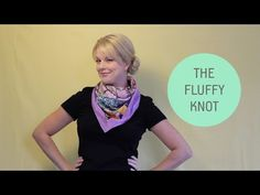 How To Wear a Silk Scarf in 7 Chic Styles - YouTube