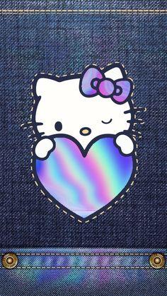Hello Kitty Drawing, Hello Kitty Art, Hello Kitty My Melody, Hello Kitty Pictures, Hello Kitty Iphone Wallpaper, Hello Kitty Backgrounds, Wallpaper Iphone Cute, Cute Wallpapers, Phone Wallpapers