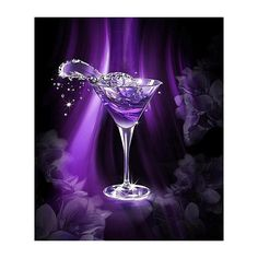 Purple Martini ❤ liked on Polyvore featuring backgrounds, drinks and purple