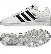 a8e1d6c2cc726 ADIDAS BUSENITZ PRO SHOES white leather  black  gold Adidas Busenitz