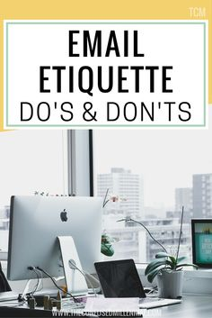 I need to do a quick PSA on email etiquette, namely the do's and don'ts of email etiquette. Here are my top eleven tips for...