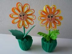 Flor Summer Crafts, Diy And Crafts, Crafts For Kids, Arts And Crafts, Nursery Rhymes Songs, Paper Magic, Teacher Appreciation, Spring Flowers, Paper Flowers