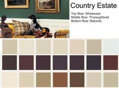 Explaining Ralph Lauren Paint Colors Country Estate Rustic