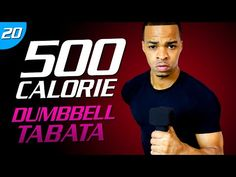 35 Min. Dumbbell Cardio Tabata Workout | 500 Calorie HIIT MAX Day 00 - YouTube