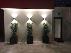 New Exterior Wall Design Ideas Porches Ideas Wall Pattern Design, Garden Wall, Exterior Wall Design, Landscape Lighting Design, Exterior, Building A Pergola, Exterior Lighting, Outdoor Walls, Garden Wall Designs