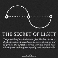 The Secret of Light energy art energy auras energy consciousness energy good vibes energy spirit science energy universe Affirmations, Law Of Love, Sacred Geometry Symbols, Sacred Geometry Tattoo, Spirit Science, E Mc2, Love Symbols, Book Of Shadows, Numerology