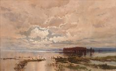 'The flood in the Darling 1890' is one of several ambitious canvases painted by WC Piguenit in response to the devastating rains that inundated the western region of New South Wales in 1890. It reflects his respect for the terrifying ...