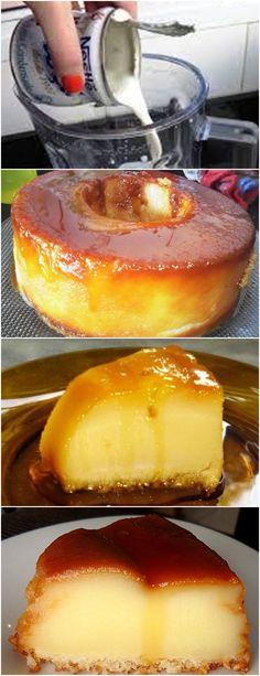 AUTÊNTICO PUDIM DE PADARIA!! VEJA AQUI>>>Prepare a calda derretendo o açúcar na própria forma, reserve para esfriar Enquanto a calda esfria coloque no liquidificador o leite, os ovos, a margarina, #receita#bolo#torta#doce#sobremesa#aniversario#pudim#mousse#pave#Cheesecake#chocolate#confeitaria