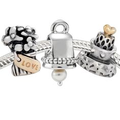 dd4b8e32e Pandora Jewelry and Pandora Charms! Wedding Bells Set.... I love this