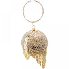 Cheap clutch purse, Buy Quality crystal clutch evening bags directly from China evening bags Suppliers: Golden Diamond Tassel Women Party Metal Crystal Clutches Evening Bags Wedding Bag Bridal Shoulder Handbag Wristlets Clutch Purse Bridal Handbags, Wedding Bag, Wedding Dress, Wedding Clutch, Party Wedding, Best Purses, Ladies Party, Evening Bags, Evening Clutches