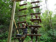 Locals take on nightmare obstacle course
