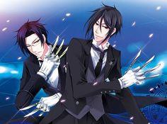 Black Butler Claude and Sebastian