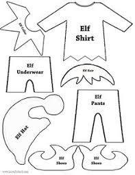Image result for diy elf on the shelf clothes pattern