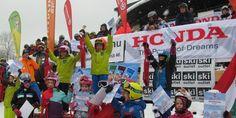 2020. február 8-án lesz a Honda Kupa Donovalyban Honda, Skiing, Snow, Baseball Cards, Sports, Kids, Ski, Hs Sports, Young Children