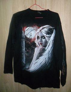 t shirt manches longues SPIRAL  / Noir / 4 (XL) FR / Synthétique / Toutes saisons