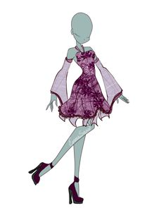 Dress Adopt OPEN by InLoveWithYaoi.deviantart.com on @DeviantArt