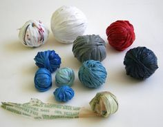 plastic bag yarn!