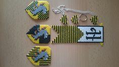 Hogwarts House Gift Set - Harry Potter Hama mini beads by PixelArt698