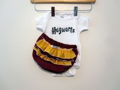 Harry Potter baby outfit.  I can see it now, a Harry Potter themed baby room.  I CAN'T WAIT!!!! :::squeal:::