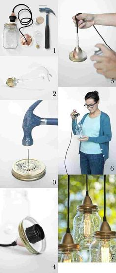 Searching for cool DIY projects, but tight on the pocket? Here are some extremely cheap DIY projects that you might want to look at. Diy Craft Projects, Fun Diy Crafts, Home Projects, Crafts Cheap, Decor Crafts, Project Ideas, Spring Projects, Upcycled Crafts, Pot Mason Diy