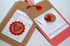 valentine mini book