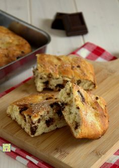 focaccia dolce al cioccolato gp Pizza, Croissant, Biscotti, French Toast, Good Food, Sweets, Breakfast, Desserts, Easter