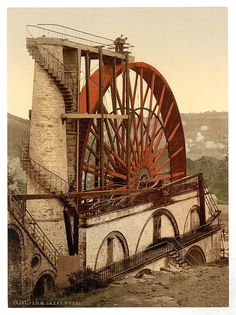 The Wheel, Isle of Man, England - 1890s  Photochrome Print - via Library of Congress