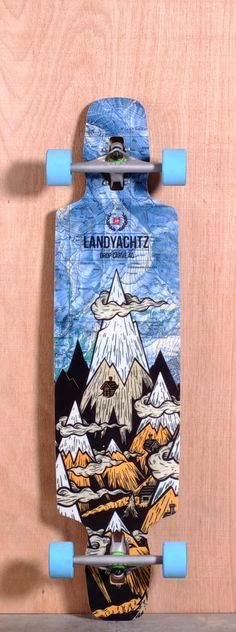 "The Landyachtz Drop Carve Longboard Deck is designed for Freeride, Carving and Cruising. Ships fully assembled and ready to skate! Function: Freeride, Carving, Cruising Features: Variable Concave, Drop Through, Upturned Nose and Tail, Wheel Cutouts Material: Bamboo, Vertically Laminated Bamboo Core, Fiberglass Top and Bottom Sheet Length: 40"" Width: 9.3"" Wheelbase: 27.4"" Thickness: 7/16"" Hole Pattern: Old School Grip: Black"