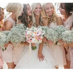 Baby's breath has made a comeback and we love it! Such a sturdy flower that's still dainty and feminine. Our beautiful bride Victoria used…