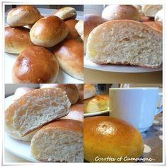 Est ce qu'une petite fournée de pains au lait pour le goûter ou le p'tit déjeuner vous tenterait ?? Il vous faudra environ 10 min de préparation, 1 heure d'attente et 5 minutes de façonnage avant de mettre vos pains au lait à dorer dans le four !!! Comptez...