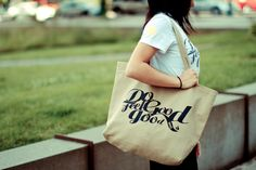 Do Good. Feel Good. tote bag