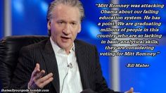 Bill Maher Tim Vine, Comedian Quotes, Bill Maher, Education System, Hilarious, Funny, Atheist, News Blog, Comedians